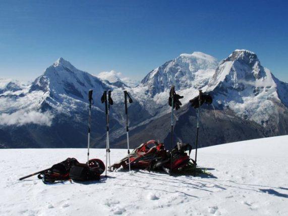 Montañismo en Cordillera Blanca