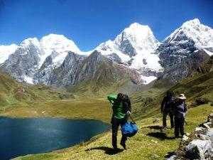 Cordillera Huayhuash: caminata de 14 dias